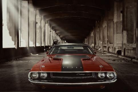 Oldtimer Dodge Challenger R/T