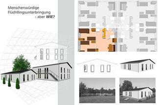Bau-Entwurf Präsentation