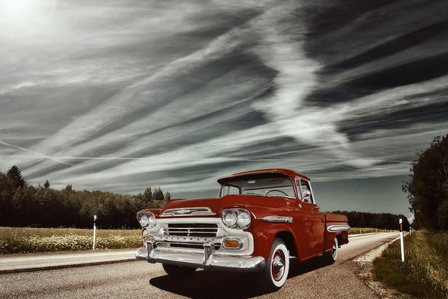 Oldtimer Chevrolet Pickup