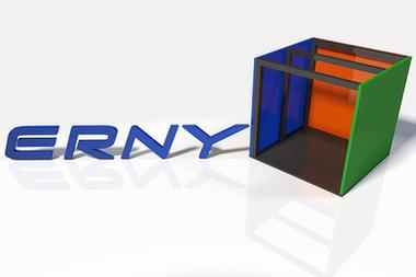 Erny-Trockenbau 3D Logo