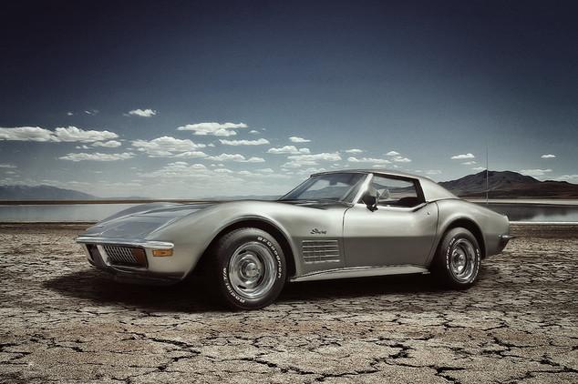 Oldtimer Chevy Corvette Stingray