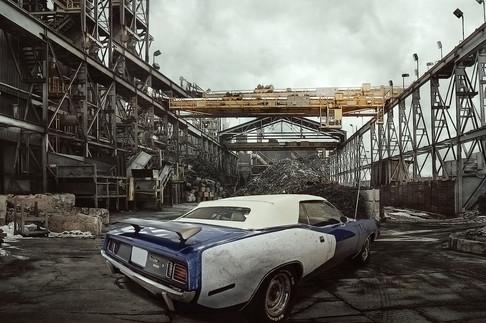 Oldtimer Plymouth Cuda
