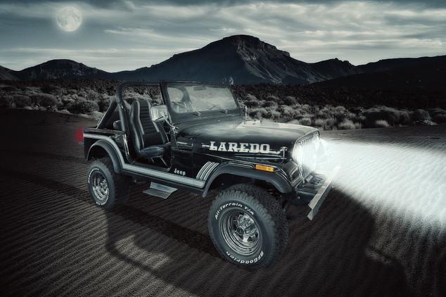 Oldtimer Jeep CJ-7 Laredo