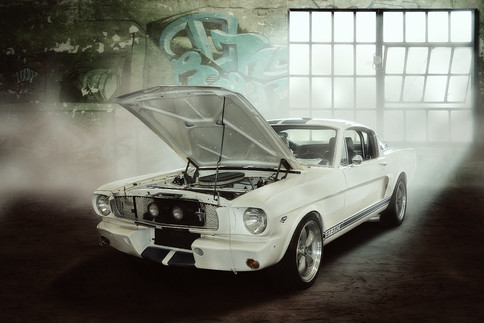 Oldtimer Ford Mustang Shelby GT350
