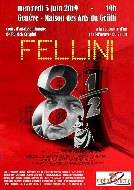 CINEMATELIERS GE 2018-2019 5-FELLINI-HUI
