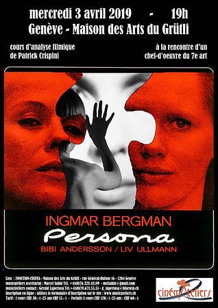 CINEMATELIERS GE 2018-2019 4-BERGMAN-PER