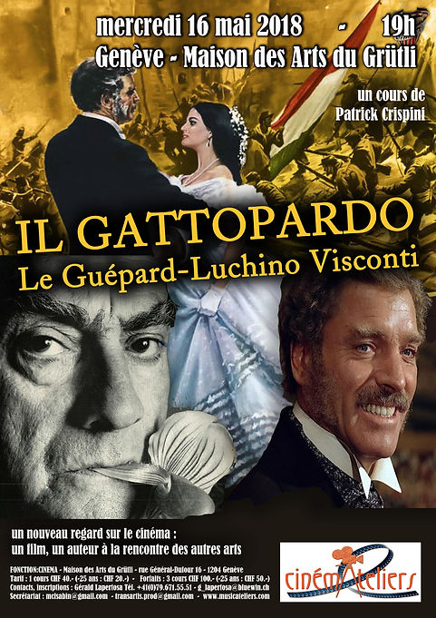 CINEMATELIERS GE 2017-2018 3-Visconti Gu