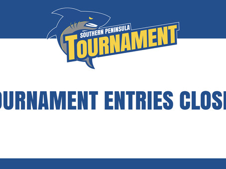 Tournament entries closed