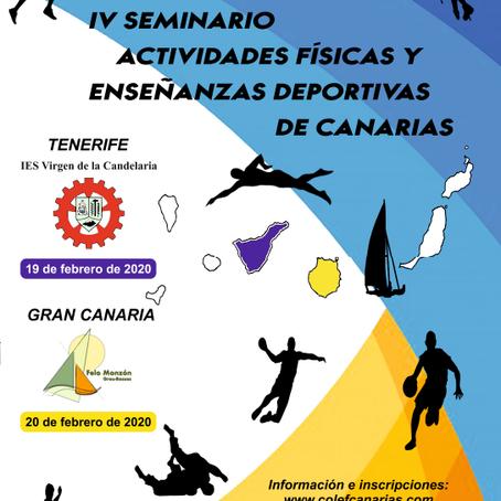 IV SEMINARIO DE ENSEÑANZAS DEPORTIVAS Y ACTIVIDADES FÍSICAS DE CANARIAS