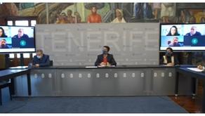 Reunión del sector AFyD con Presidencia y Deportes Cabildo de Tenerife, Sanidad y DGD.