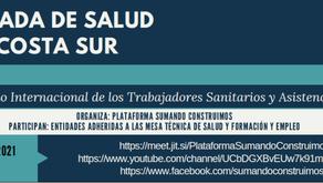 III jornadas de Salud. Plataforma Sumando Construimos. Ofra - Costa Sur.