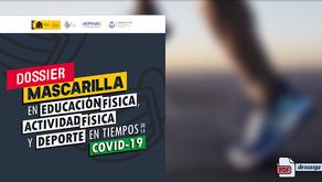 Dossier 'Mascarilla en EF, AF y deporte en tiempos de la COVID-19' Consejo COLEF.