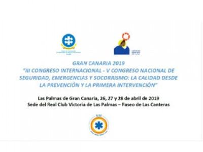 III CONGRESO INTERNACIONAL - V CONGRESO NACIONAL DE SEGURIDAD, EMERGENCIAS Y SOCORRISMO - 26-28 ABRI