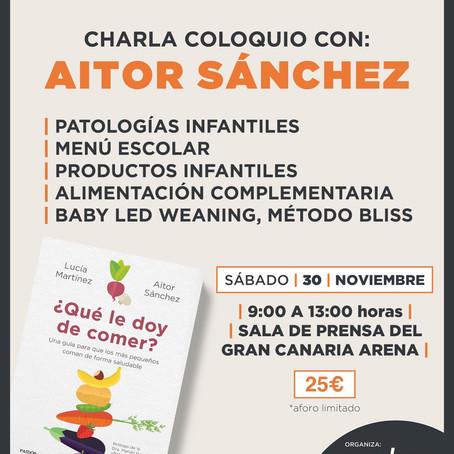 CHARLA COLOQUIO Aitor Sánchez - 30Nov - Gran Canaria