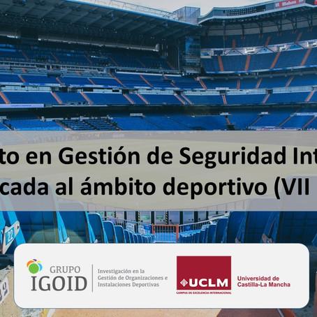 Posgrado Experto en Gestión de Seguridad Integral Aplicado al Deporte UCLM IGOID