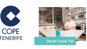 Entrevista a David Funes Pol EFD nº 12.277 en Radio Cope Tenerife