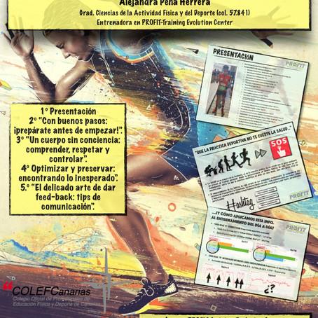 APOYO de INICIATIVA PROFESIONAL - Charla Entrena con Ciencia, Alejandra Peña Col. 57841