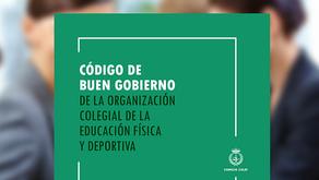La Organización Colegial de la EFD ya cuenta con un Código de Buen Gobierno