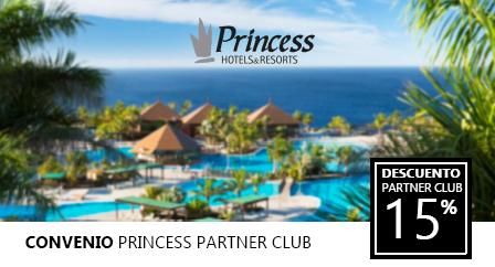 PROMOCIONES 2019 para Colegiados/as COLEFC - Princess Hotels