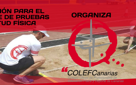 CURSO COLEFC: Formación para el Peritaje de Pruebas de Aptitud Física. 13-14 de Septiembre, Tenerife