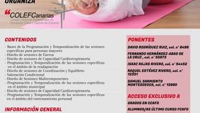 """CURSO """"VALORACIÓN CONDICIONAL Y DISEÑO DE EJERCICIO FÍSICO PARA PERSONAS MAYORES"""""""
