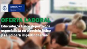 OFERTA de EMPLEO en Madrid - 24 Julio 2019