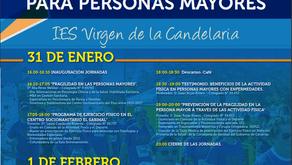 IV JORNADAS DE ACTIVIDAD FÍSICA PARA PERSONAS MAYORES. 2020.