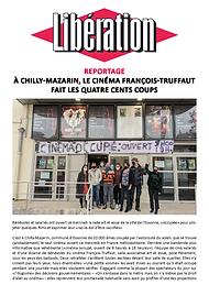21.03.17 - Libération - Cinéma ouvert.