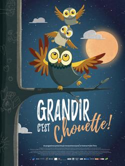 GRANDIR C'EST CHOUETTE