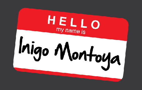 Hello.  My name is...