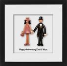 """""""Happy Anniversary Dad & Mum"""""""