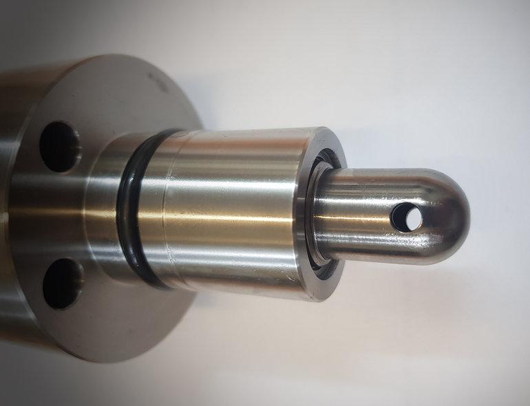 pressure balanced plunger