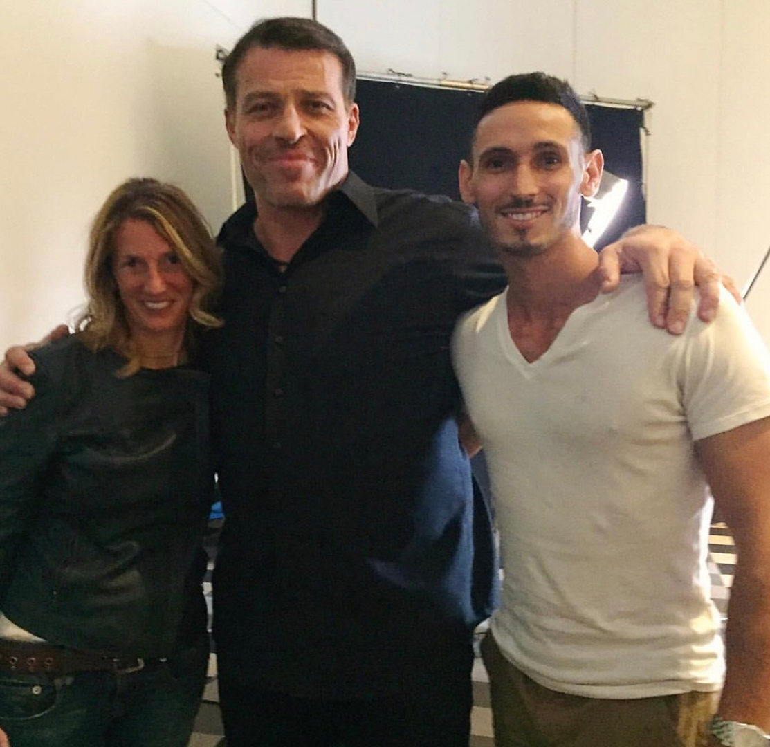 Tony Robbins Joel Brown & Kate (Producer