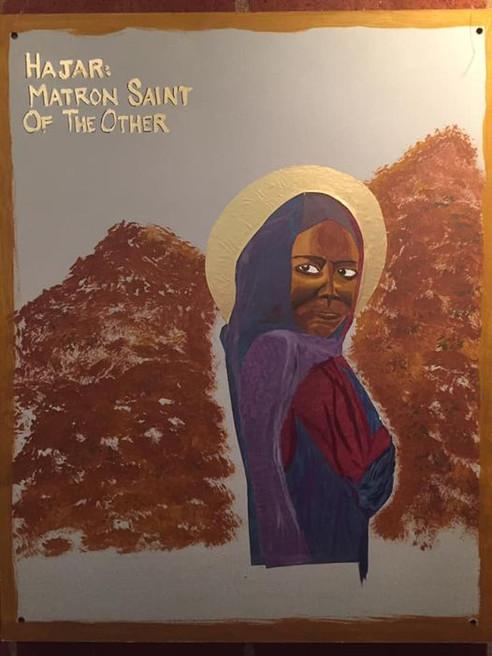 Hajar:  Matron Saint of the Other