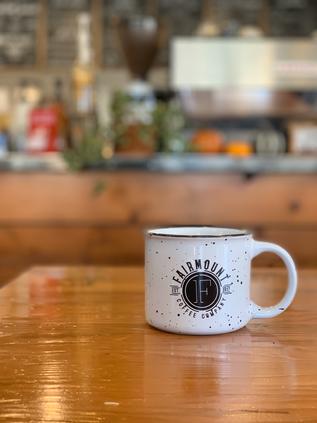 Ceramic Mug - White $12