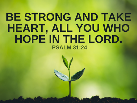Jesus, Our Courage and Hope