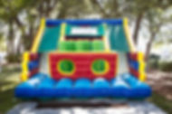 Inflatble Obstacle course with two slides. Charleton s.c.