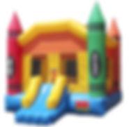Medium Jump Castle with Basketball Hoop