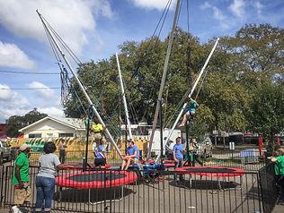Bungee Jump trampoline Charleston