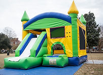 A classic combo of Jump castle and slide.