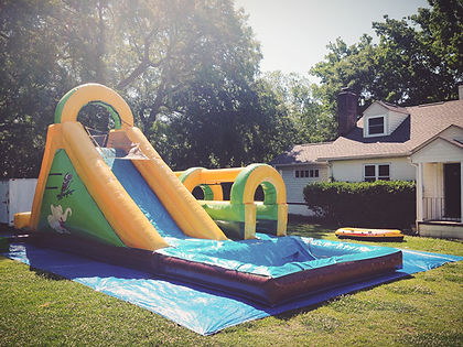 Charleston Inflatable Waterslide Rentals