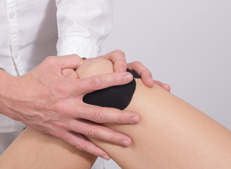 Knee pain, can be a misaligned pelvis or weak hip