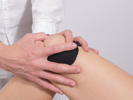 Knee pain, can be a misaligned pelvis or weak hip