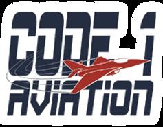 Code 1 Aviation logo