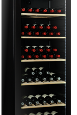 Vintec Noir Wine Cellar - Glass Door - V190SG2EBK