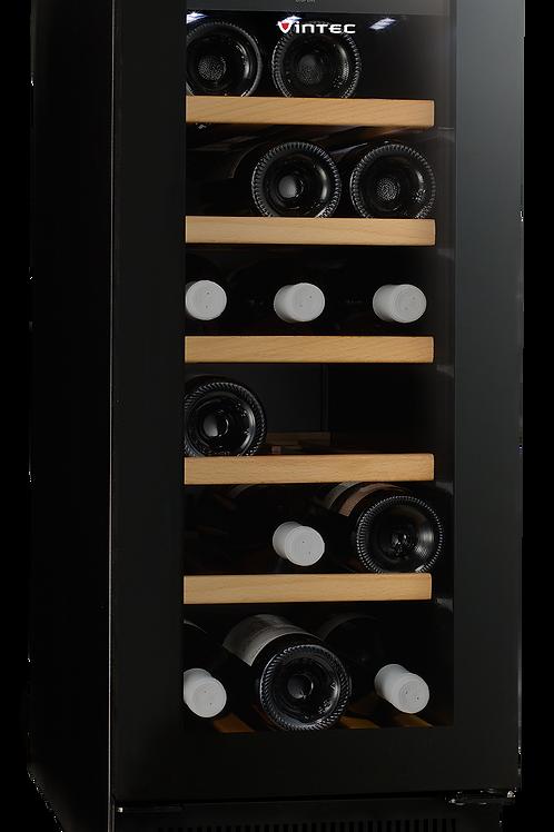 Vintec Noir Wine Cellar - Glass Door - VWS020SBA-X