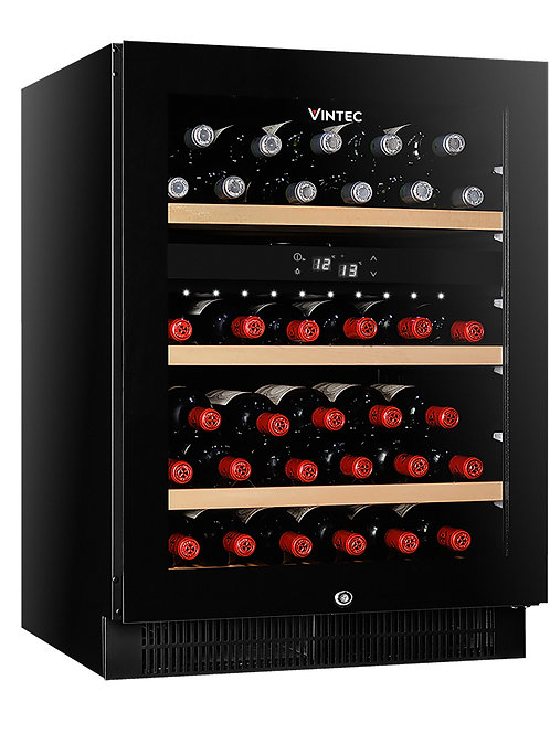 Vintec Noir Wine Cellar - Glass Door - VWD050SBA -X