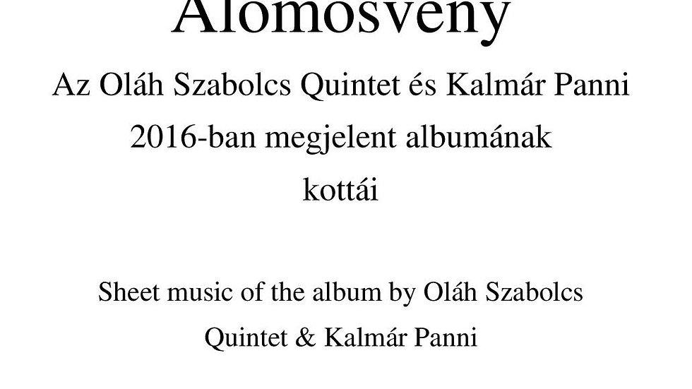 Álomösvény Album - Sheet Music