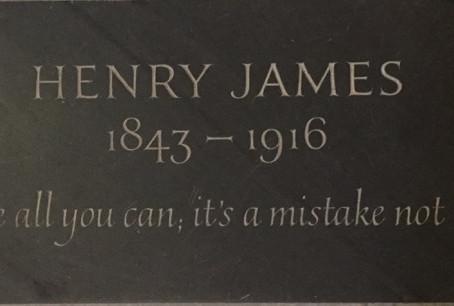 Henry James said: