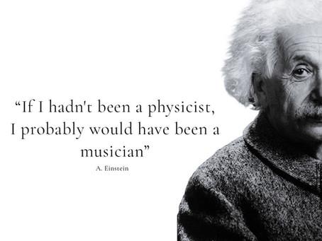 Albert Einstein's passion for music